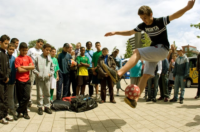 Freestyle soccer